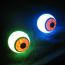 Lifesize Lighted Color Changing Eyeballs Eyes Halloween Pumpkin Decoration Props