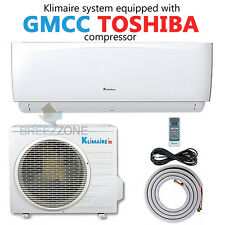 9000 BTU 16.4 SEER Inverter Ductless Mini Split Air Conditioner Heat Pump System