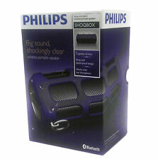 Philips Shoqbox Portable Bluetooth Speaker SB7260/37 (Purple)