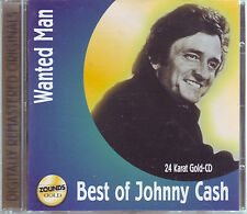 ZOUNDS - JOHNNY CASH - Wanted Man - Best - rare audiophile Gold CD 2000