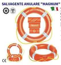 SALVAGENTE ANULARE MAGMUM DOTAZIONE DI SICUREZZA BARCA GOMMONE 2,5 KG OMOLOGATO