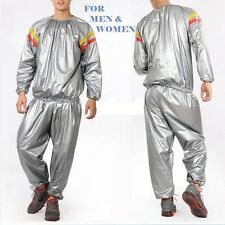 NEW FITNESS SLIMMING SAUNA SWEAT SUIT EXERCISE GYM FITNESS WORKOUT WEIGHT LOSS