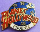 Planet Hollywood PHOENIX Classic Globe Red, White & Dark Blue Lapel Pin NEW