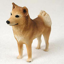 Finnish Spitz Hand Painted Dog Figurine Statue