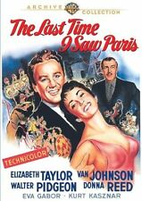 THE LAST TIME I SAW PARIS (1954 Elizabeth Taylor)  Region Free DVD - Sealed