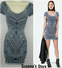 NWT bebe TRIBAL PRINT   Dress Size P/S  PARTY TO DRINKS MSRP $80.00