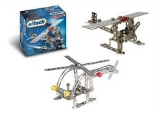 Eitech Mini Airplane and Helicopter Construction Building Set Metal C67