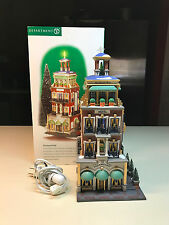 Department 56 Christmas In The City Series PARAMOUNT HOTEL In Original Box