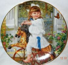 Collectors plates, Sandra Kuck wall hanging Beautiful child's room decorative