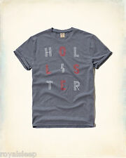 HOLLISTER By Abercrombie Printed Graphic T-Shirt Med/Large Available *BNWT* Tee