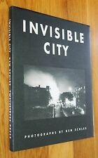 KEN SCHLES - INVISIBLE CITY - 1988 1ST EDITION & 1ST PRINTING HARDCOVER - NICE!