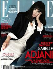 ELLE France 13/05/2016 ISABELLE ADJANI Pauline Hoarau ANAIS POULIOT Cannes EXCLT