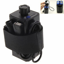 New 8.4V 4x 18650 Waterproof Battery Pack Case House Cover For Bicycle Bike Lamp
