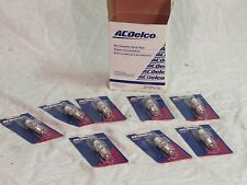 New NOS AC Delco MR43LTS spark plugs individual marine plugs