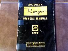 1968 Mooney Ranger M20C Owner's Manual