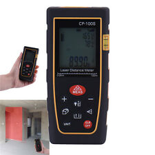 100m/328ft Digital Laser Distance Meter Range Finder Measure Tape CP-100S BAO
