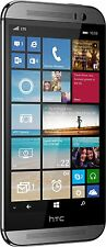 HTC One M8 32GB Gunmetal Gray (AT&T Unlocked) Windows Smartphon​e - FRB