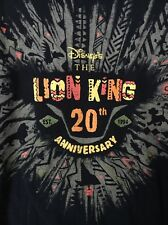 WDW Disney's The LION KING 20th Anniversary Black Collectible Shirt M