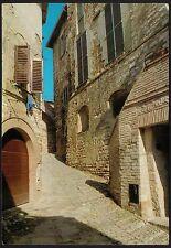 AA0158 Perugia - Provincia - Spello - Scorcio di un vicolo medioevale
