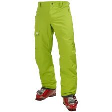 HELLY HANSEN Mens Lime Green Legend Cargo RECCO ARS Ski Pants Trousers XL BNWT