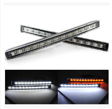 2x 12 LED Car Daytime Running Light Waterproof DRL Daylight Lamp with Turn Light