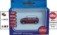 New Mini Cooper, Metal Siku 1872. HO/OO Series, Railway Scale, 1:87 Scale BNIB
