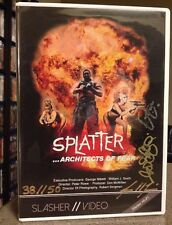 OOP Splatter Architects Of Fear Slasher // Video DVD SOV DOC Autographed 38-50