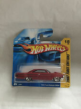 HOT WHEELS 1694 FORD GALAXIE 500XL 018/156 NEU NEW OVP SHORT CARD