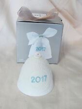 LLADRO 2017 CHRISTMAS HOLIDAY BELL w/ RIBBON BRAND NEW IN BOX #18426 LIMITED ED.