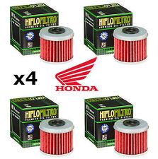 Honda x4 Pack HiFlo Oil Filters HF116 CRF450R CRF250 R CRF450 CRF250 2016 2017