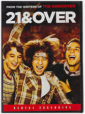 21 AND OVER (DVD, 2013) RENTAL EXCLUSIVE