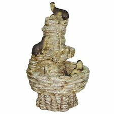 KY1008 - Tres Amigos Playful Otter Cascading Garden Fountain w/Pump Kit!