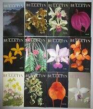 12 AMERICAN ORCHID SOCIETY BULLETIN 1990, JAN. THRU DEC.