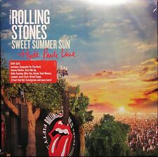 Rolling Stones Sweet Summer Sun Hyde Park Live 3 LP Vinyl with DVD