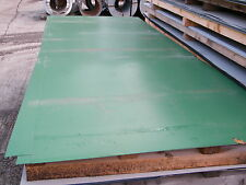 Second Grade 3m x 1.2m Colour Coated Metal Flat Sheets, 0.7mm Thickness