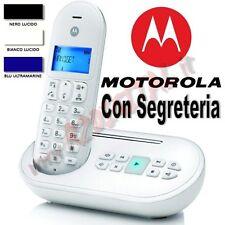 TELEFONO CORDLESS DECT MOTOROLA T111 DISPLAY LCD GAP RUBRICA 50 CONTATTI