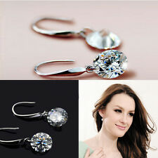 Pendientes Aretes Para Mujeres Regalo Blanco Rhinestone AAA Ear Stud Earrings