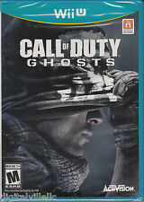 Call of Duty Ghosts Nintendo Wii U Brand New Sealed COD Wii U game