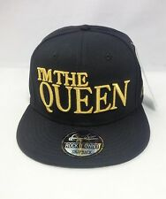 I'M THE QUEEN SNAPBACK BASEBALL CAP HIP HOP ERA FITTED FLAT PEAK HAT