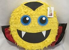 "Emoticon Pinata 16""  Emoticon Party,Vampire Emoticon Halloween Pinata"