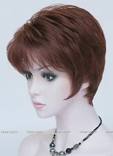 Excellent Copper Red Short Straight Women Ladies Daily wig FTLD067