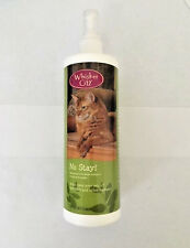NEW WHISKER CITY NO STAY! CAT DETERRENT REPELLANT FURNITURE SURFACE SPRAY USA