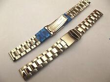 bracciale mod. bulova acciaio ansa dritta 20 mm doppia chiusura orologi crono