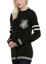 Harry Potter Hogwarts Crest Cardigan Cosplay Size XXL Rare NWT!