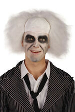 Crazy Guy / Beetlejuice Halloween 80's 1980's Fancy Dress Wig P8098