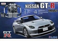 Fujimi ID-131 1/24 Nissan GT-R R35 w/ Engine Parts from Japan Rare