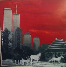 NYC'S  By  Robert Bery Soho Artis - Mixed Media Original  WORLD TRADE CENTER