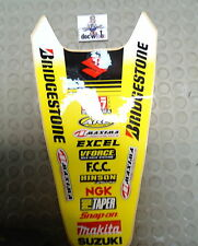 Universal Suzuki One Industries rear fender mudguard graphics RM1199