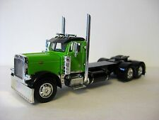 Peterbilt Day Cab Model Lime / Black Diecast Promotions 1/64th Scale DCP #32998