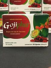 Goji Plus Diet Pills - 1 Month Supply - Goji Berries and Green Tea